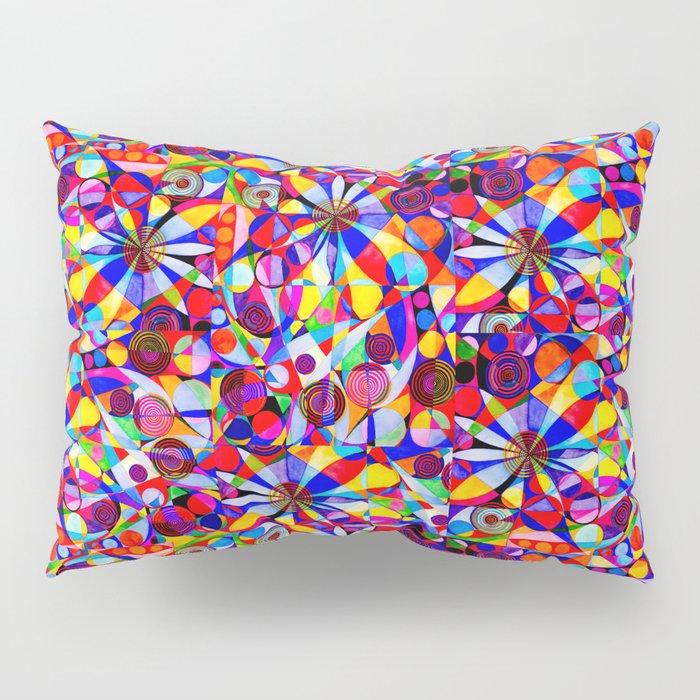 Geometric Botanicals 4 Pillow Sham