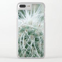Cactus 06 Clear iPhone Case