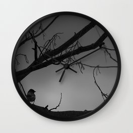 Lonely Bird Wall Clock