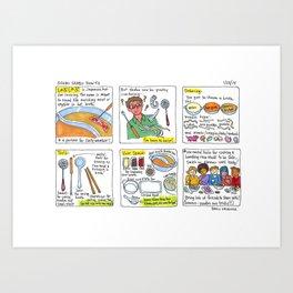shabu shabu  Art Print
