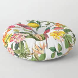 Vintage & Shabby Chic - Spring Tropical Birds Fruit Botanical Garden     Floor Pillow