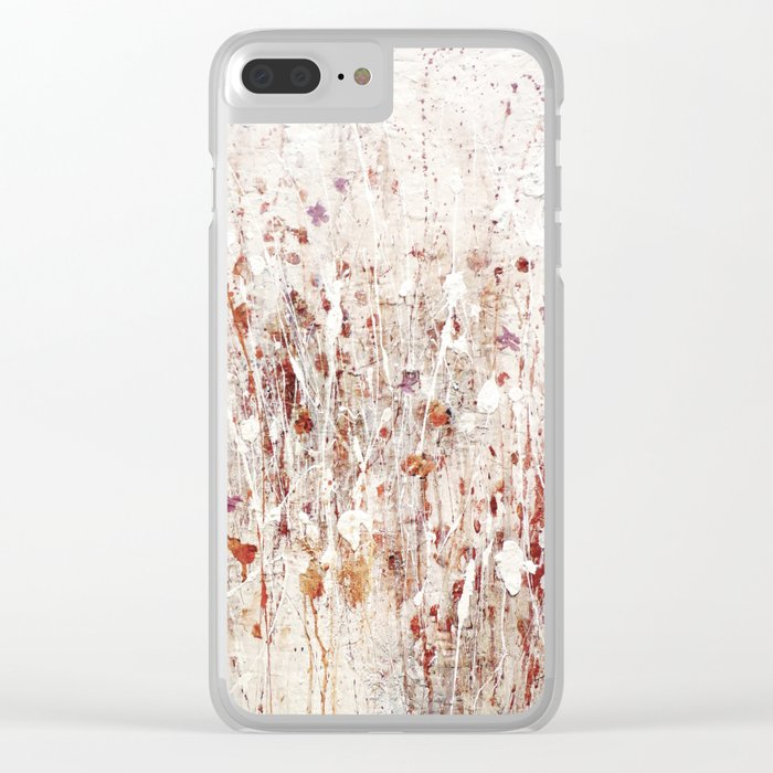 little rose Clear iPhone Case