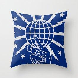 BUFFALO CHIP Throw Pillow