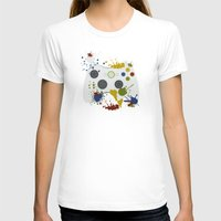 xbox T-shirts featuring Controller Graffitti XBOX by AngoldArts