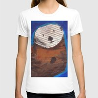 otter T-shirts featuring Otter by Cre8tive Papier