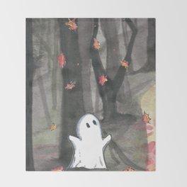Spirit of Fall Throw Blanket
