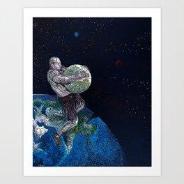 Allegiant Remix Art Print