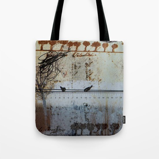 DRESSED LANDSCAPE VI Tote Bag