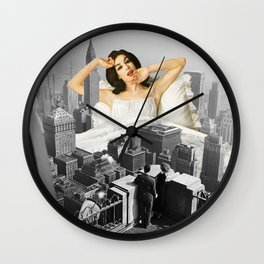 Urban Nymph Wall Clock