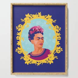 Framed Frida Serving Tray