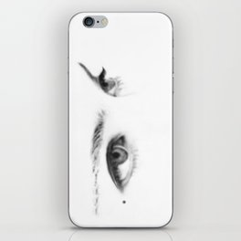 """""""the stare of the dammed"""" iPhone Skin"""