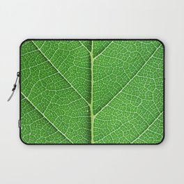 Green Vein Life Laptop Sleeve