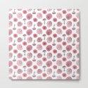 Pink Carnation Pattern by crumpetsandcrabsticks