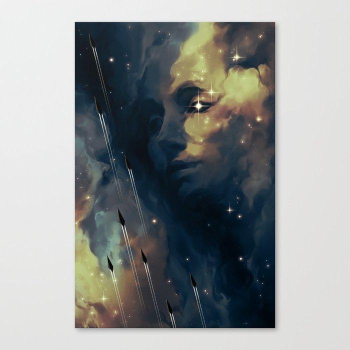 Lady Nova Canvas Print