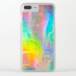 Prisms Play Of Light 1 Clear iPhone Case