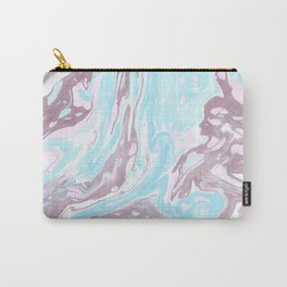 Bold Suminagashi Carry-All Pouch