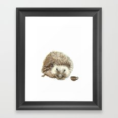 Hector the Hedgehog Framed Art Print