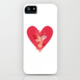 Feelings (Pink) iPhone Case