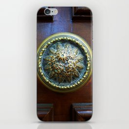 Adorned Doorknob iPhone Skin