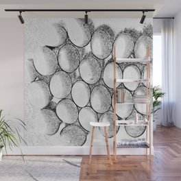Two Dozen Eggs To Be Eggs Act Wall Mural