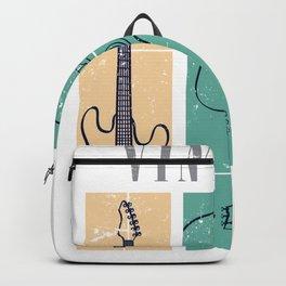 Guitar Vintage Color Backpack