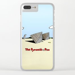The Pyramids of Pisa Clear iPhone Case
