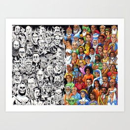 The Congress of the Wise and Evil Art Print