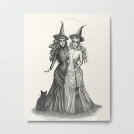 The Witches Metal Print