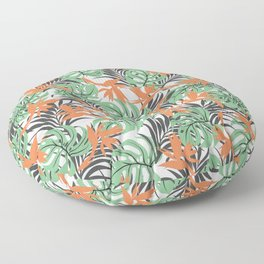 Floralz #24 Floor Pillow