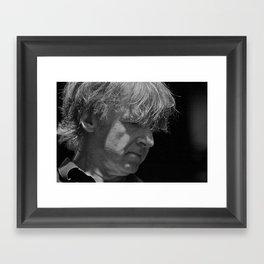 Neil Finn B&W Framed Art Print