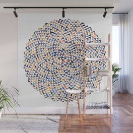 Phyllotaxis Triangles Wall Mural