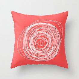 Nest of creativity Throw Pillow