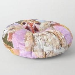 Victorian Masquerade Ball Floor Pillow