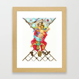 Jay Bey Framed Art Print