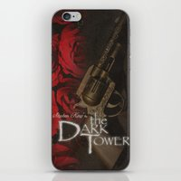 dark tower iPhone & iPod Skins featuring Dark Tower by JAGraphic
