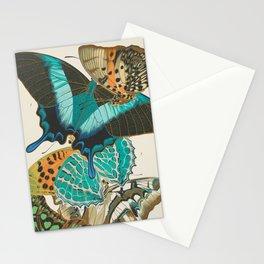 Butterfly Print by E.A. Seguy, 1925 #4 Stationery Cards