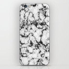 Black and White Stone iPhone Skin
