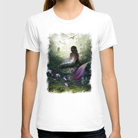 little mermaid T-shirts featuring Little mermaid by milyKnight