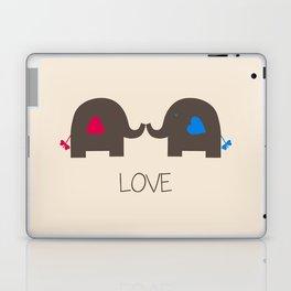Elephant love Laptop & iPad Skin