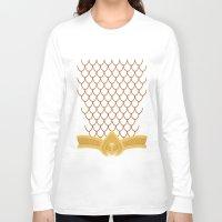 aquaman Long Sleeve T-shirts featuring I Am Aquaman by Alex Boatman