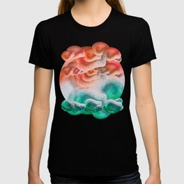 """Coral sand beach and tropical turquoise sea"" T-shirt"