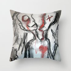 Personality Split Throw Pillow