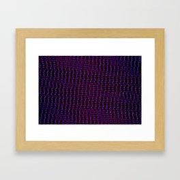 MANIC STARE Framed Art Print