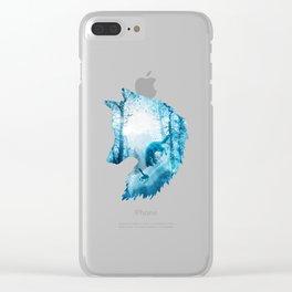 Fox's Winterland Clear iPhone Case