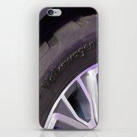 volkswagen iPhone & iPod Skins featuring Volkswagen Taigun tire by Mauricio Santana