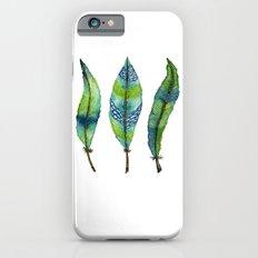 Mystic Sea Feather Trio iPhone 6s Slim Case