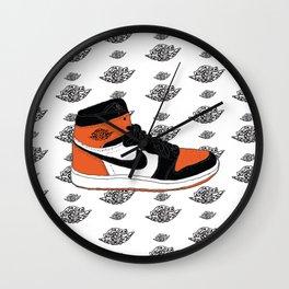 Jordan 1 Shattered Backboard Wall Clock