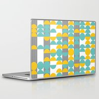 60s Laptop & iPad Skins featuring 60s pattern 02 by Ioana Luscov