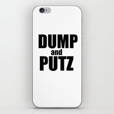 Dump and Putz basic iPhone & iPod Skin