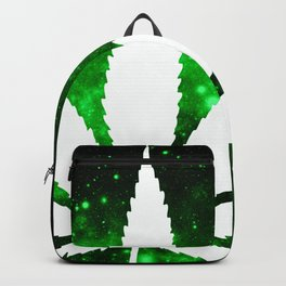 Weed : High Times Green Galaxy Backpack
